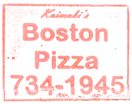 Kaimuki's Boston Pizza